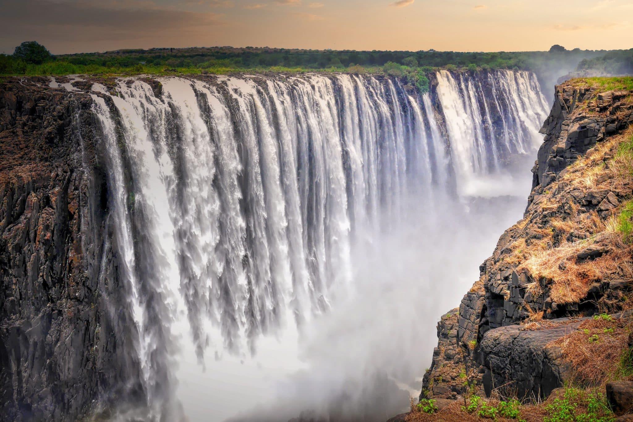 Botswana Victoria falls