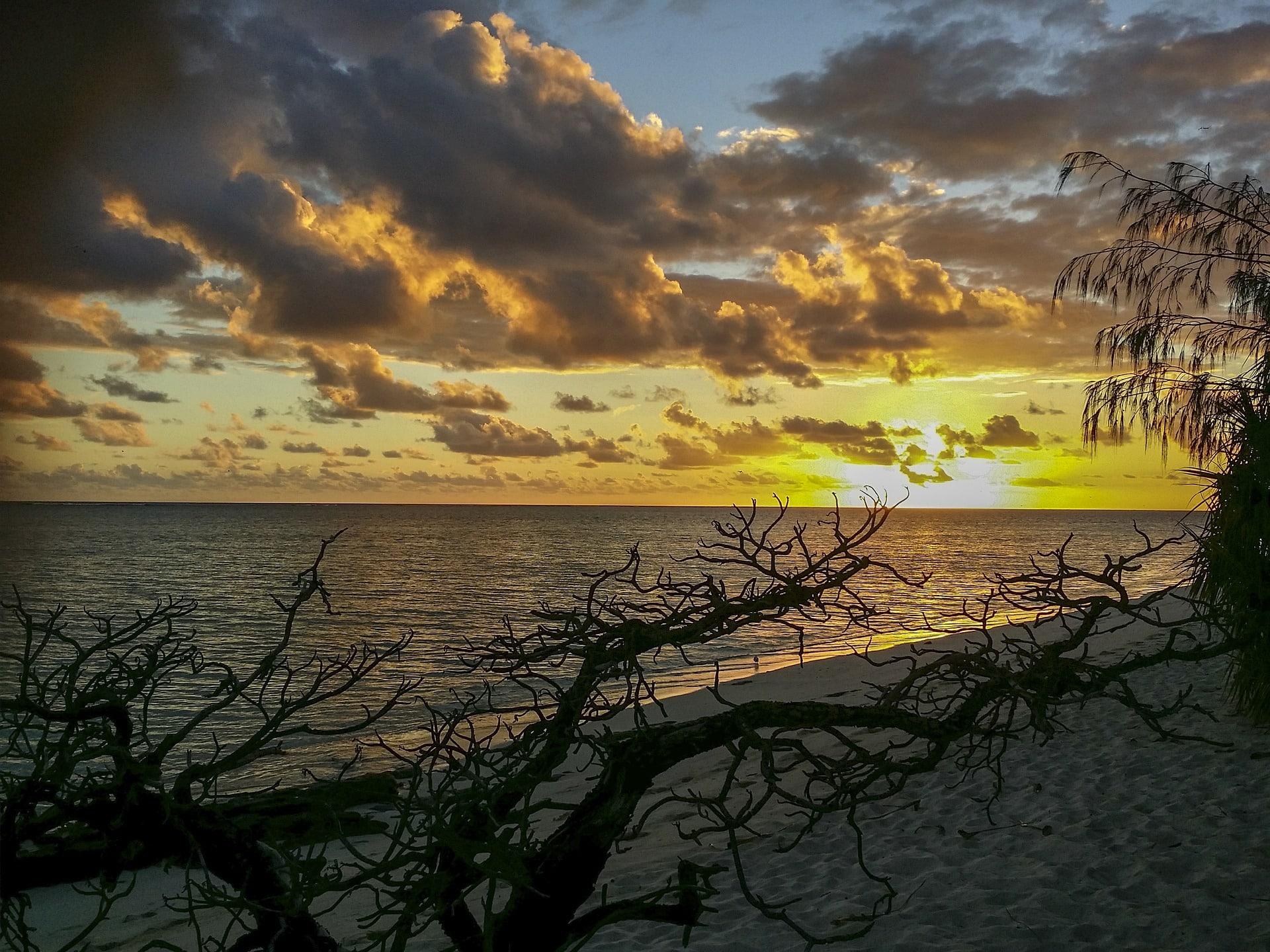 AU sunset