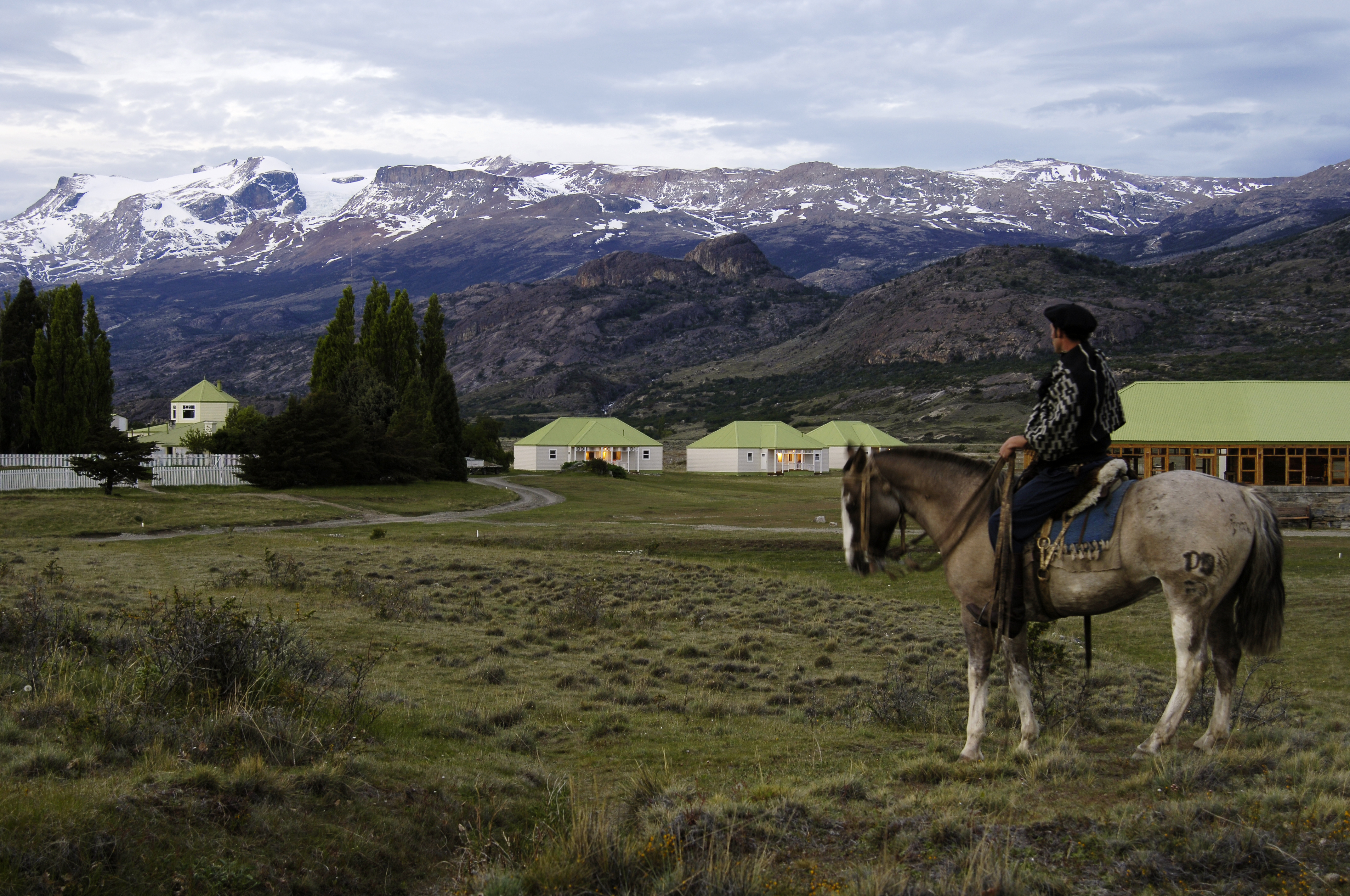 Argentina El Calafate - Estancia Cristina Patagonia