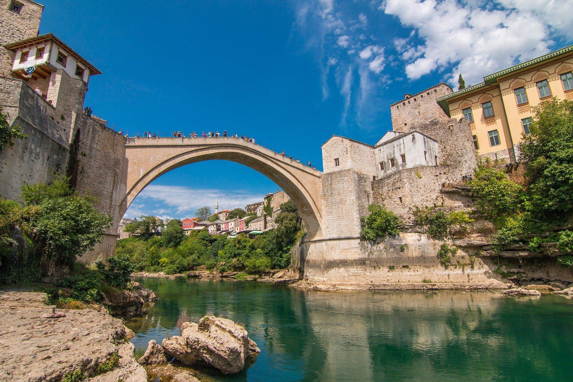 Croatia Mostar Bosnia