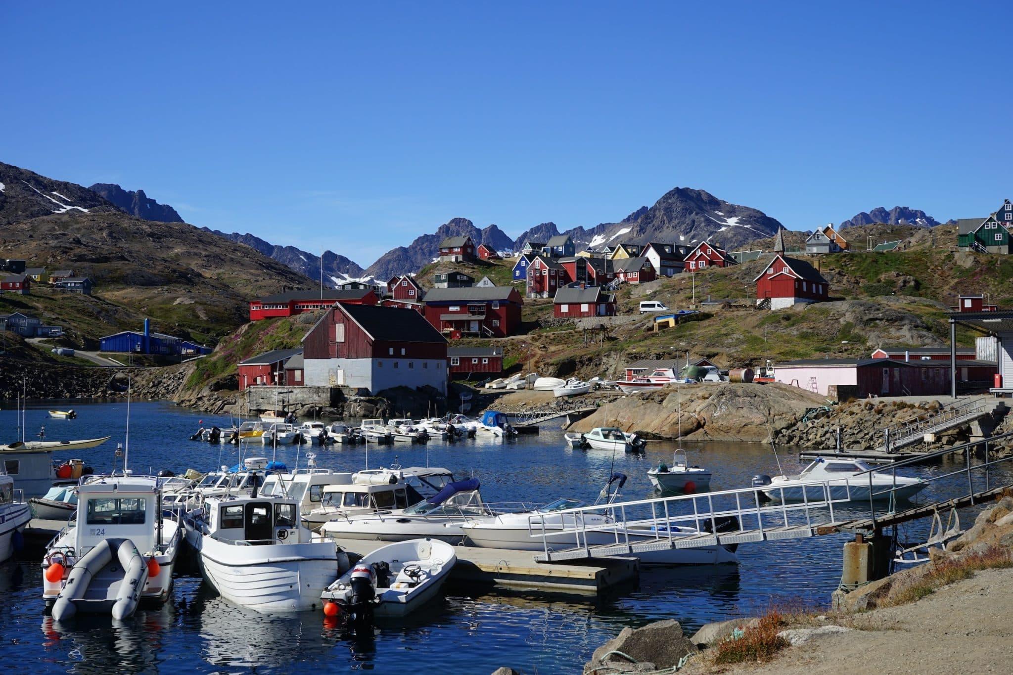 Greenland harbor
