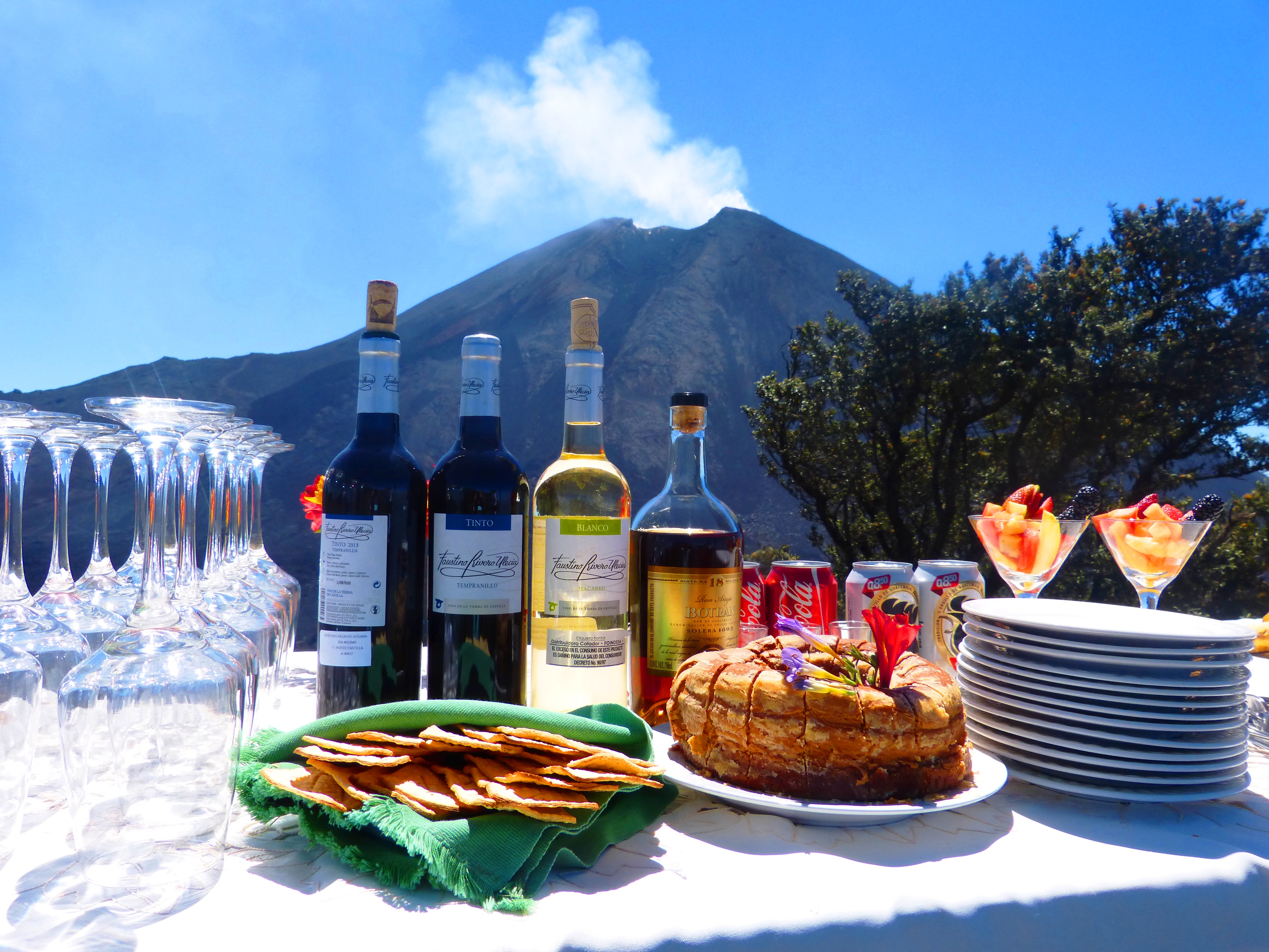 Guatemala Pacaya lunch