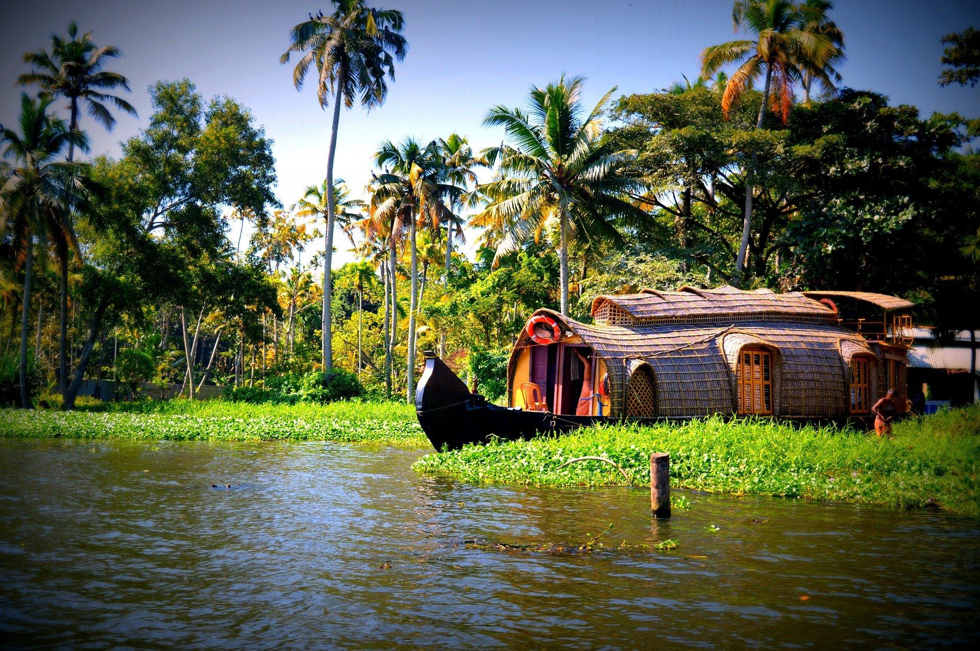 IndiaSouthHouseboat Kerala