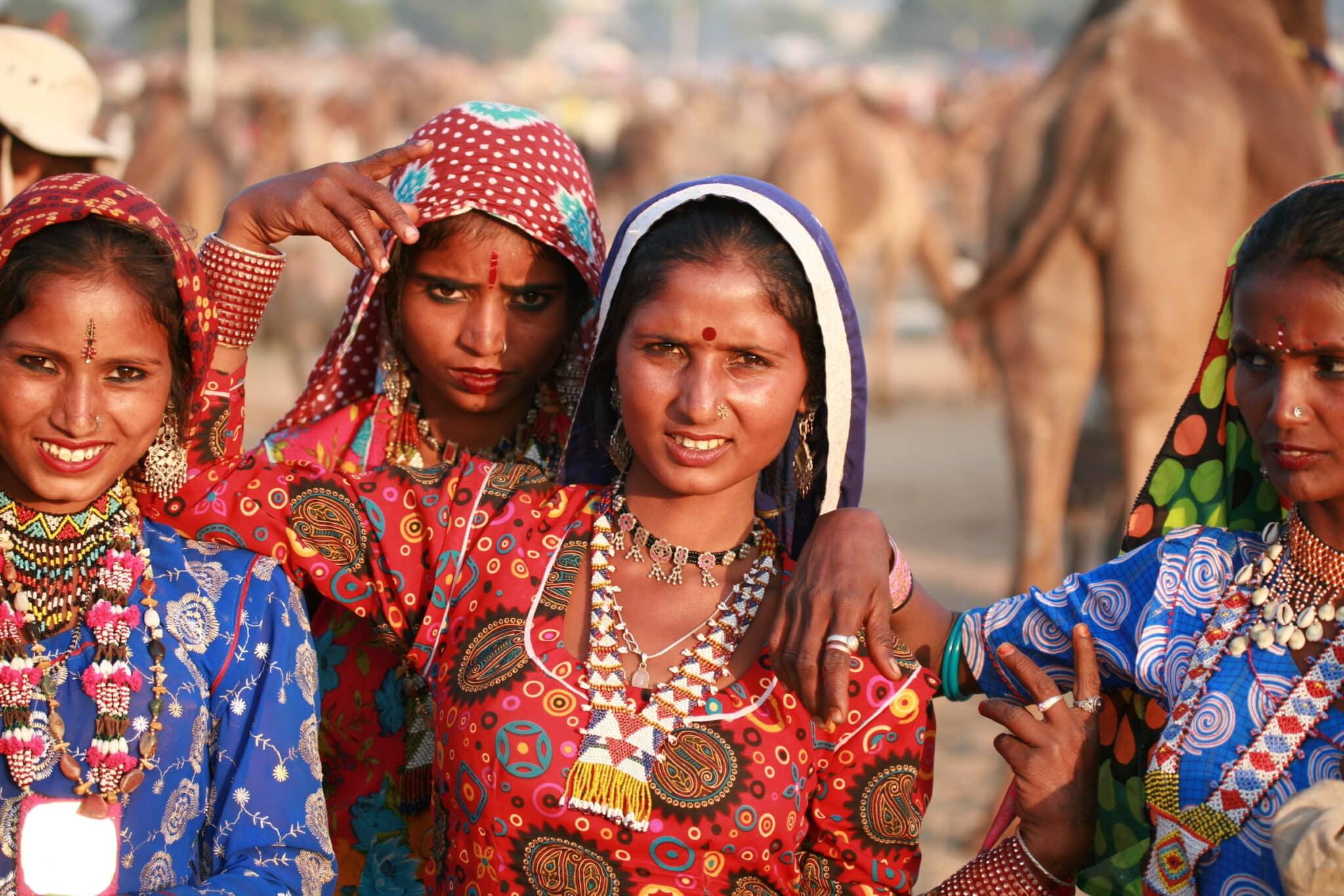 India; Gypsies at the Pushkar Fair