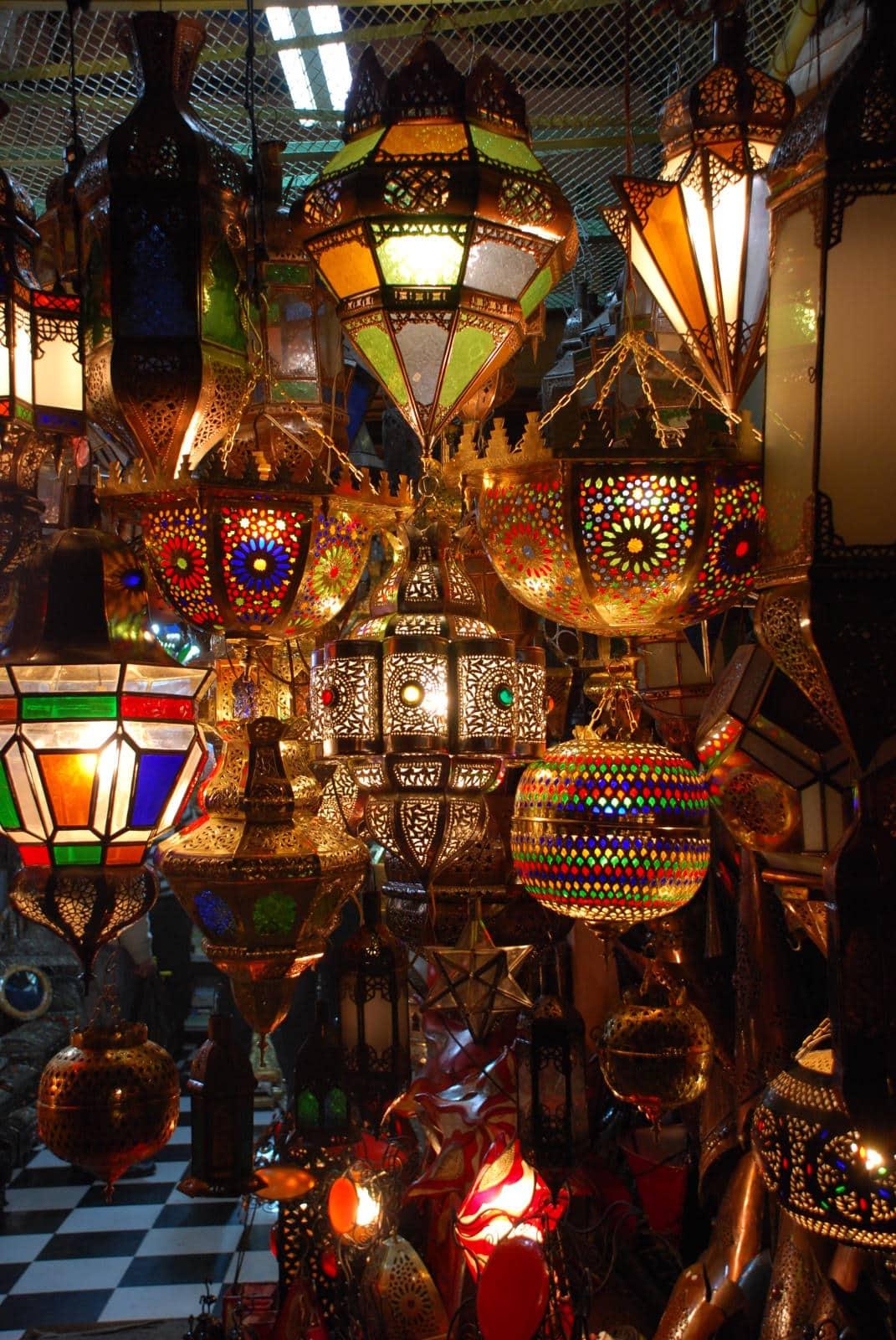 Morocco; Marrakech Souk