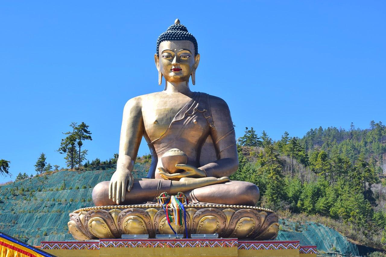 Nepal Bhutanbig-buddha thimphu