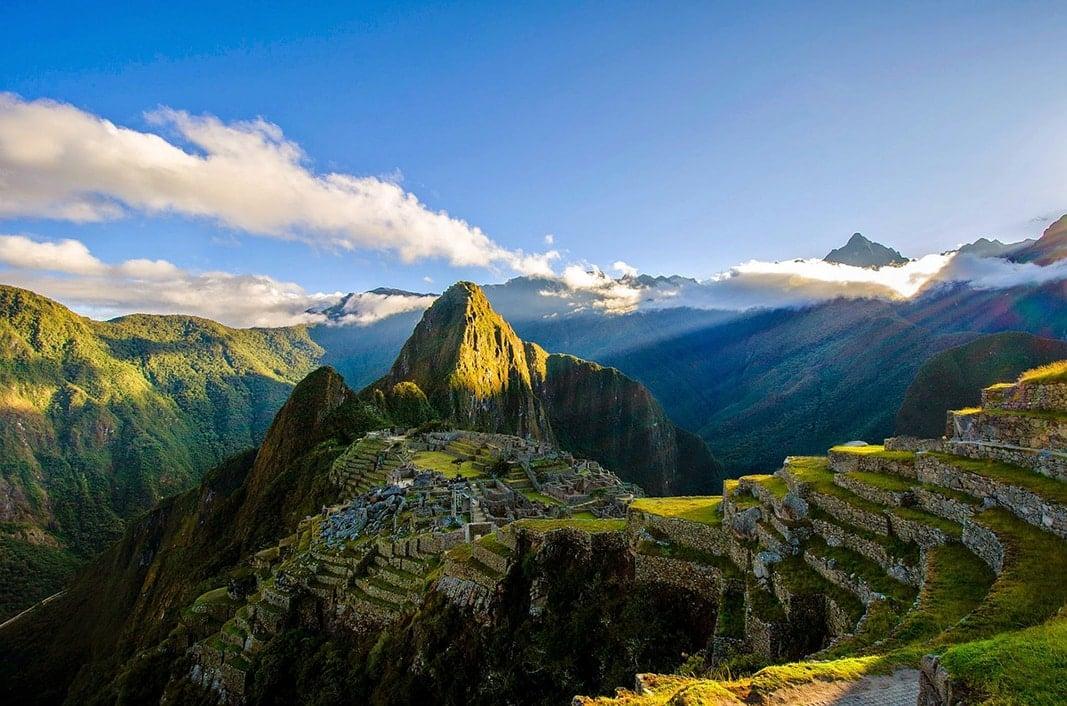 Peru machu picchu landscape