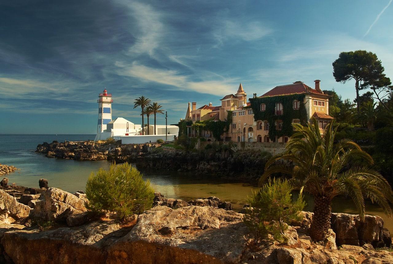 Portugal cascais lighthouse
