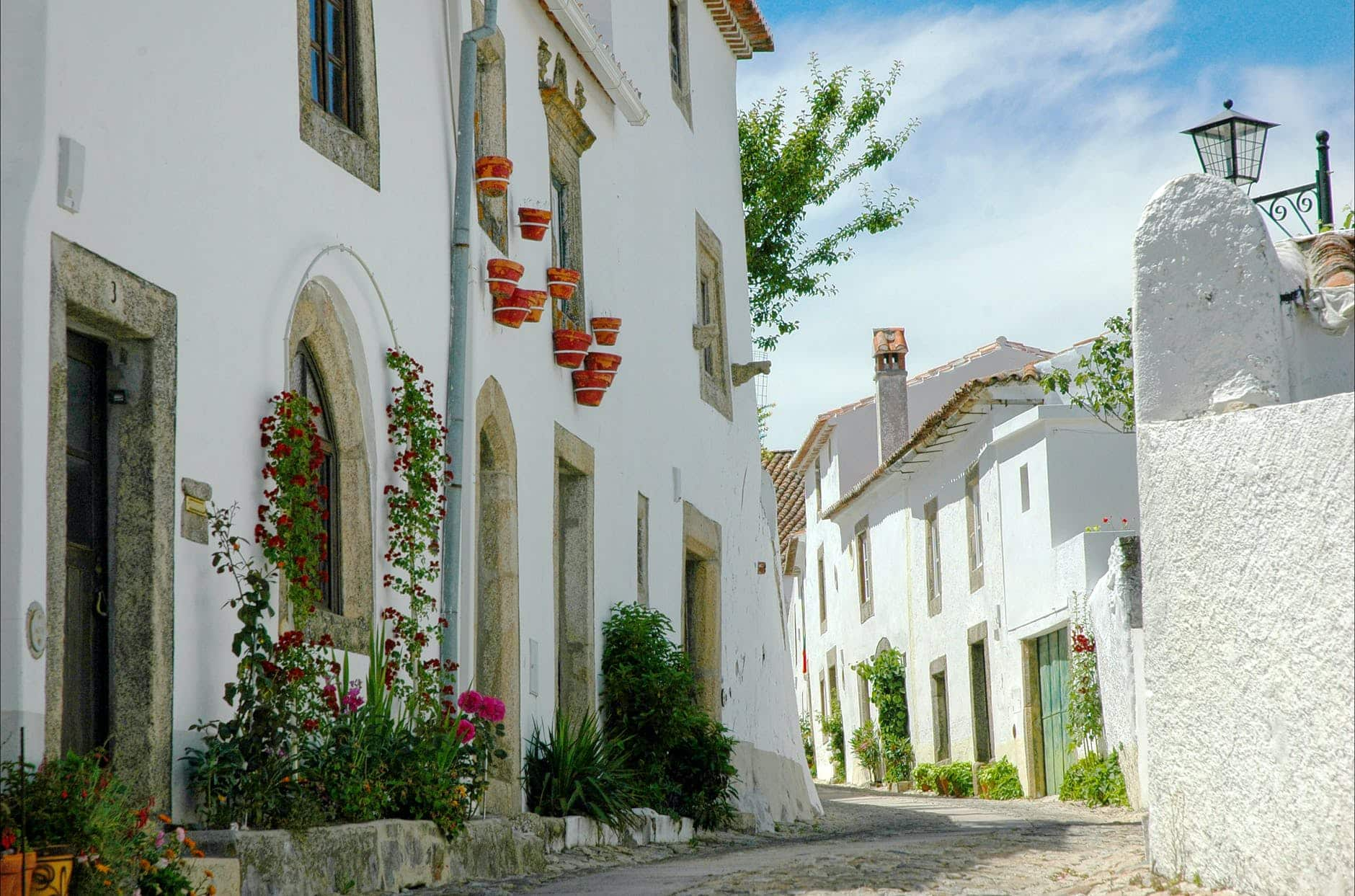 Portugal white houses