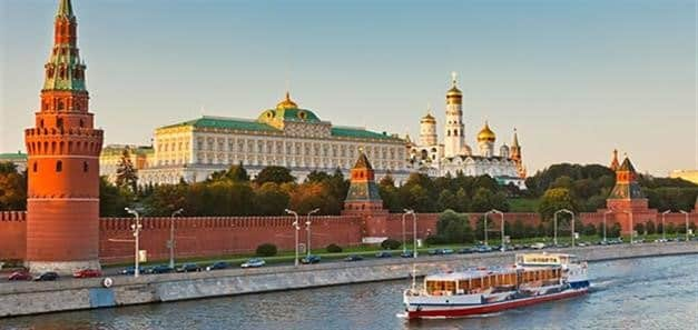 Russia Moscow river