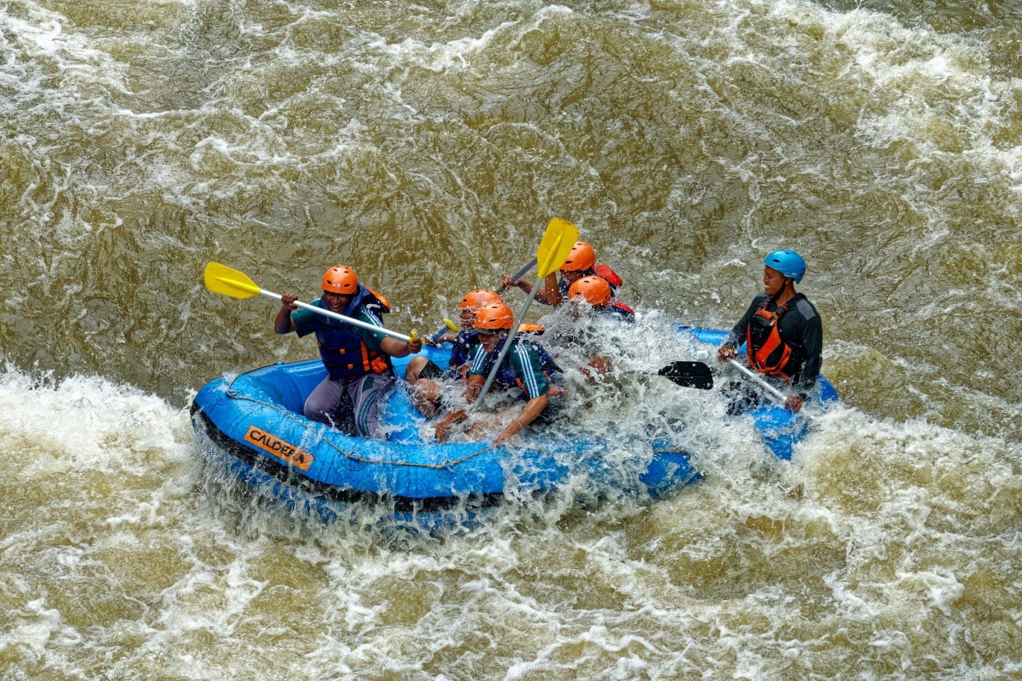 Sri Lanka rafting